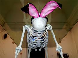 skeleton bunny