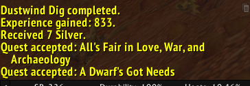 A Dwarf's Got Needs....indeed sir