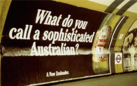 "When I looked up ""sophisticated Australian"" this is what popped up. You can blame Google on that."