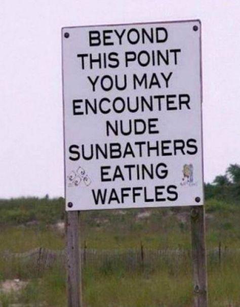 nude waffles