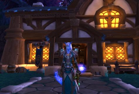 Lunarfall Inn: four stars!