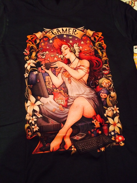 Navimie bought me this awesome T-shirt! So damn cute!